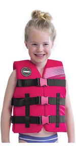 2021 Jobe Junior 50N Impact Vest 244820003 - Pink