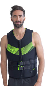 2021 Jobe Mens 50N Neoprene Impact Vest 244920002 - Black / Lime