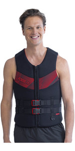 2021 Jobe Mens 50N Neoprene Impact Vest 244920004 - Black / Red