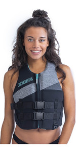 2021 Jobe Womens 50N Neoprene Impact Vest 244920015 - Cool Grey