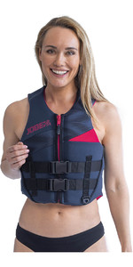 2021 Jobe Womens 50N Neoprene Impact Vest 244920016 - Midnight Blue