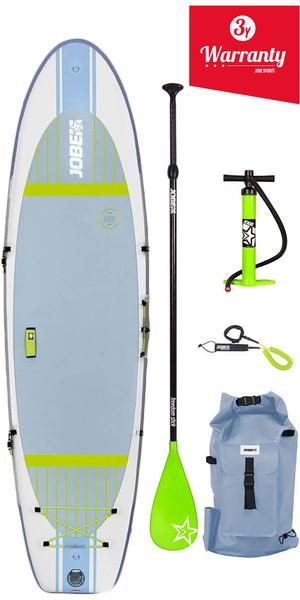 "2018 Jobe Aero Lena Yoga hinchable Stand Up Paddle Board 10'6 x 33 ""INC Paleta, mochila, bomba y correa"