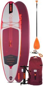 2021 Jobe Aero Mira 10'0 Stand Up Paddle Board Padle Board-pakke - Bord, Taske, Pumpe, Padle Og Snor