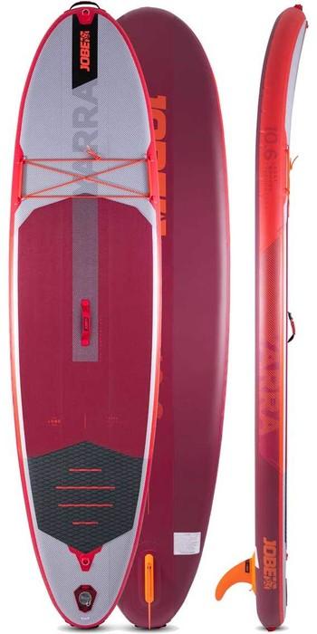 2021 Jobe Aero Yarra 10'6 Stand Up Paddle Board Paket - Board, Tasche, Pumpe, Paddel & Leine