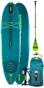 2021 Jobe Aero Jobe 10'6 Stand Up Paddle Board Pakket - Board, Tas, Pomp, Paddle En Riem