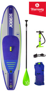 "2019 Jobe Desna Inflável Stand Up Paddle Board 10'0x32 ""inc Paddle, Mochila, Bomba & Leash"
