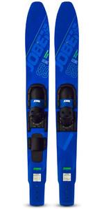 2020 Jobe Hemi Combo Skis 202420001 - Blue