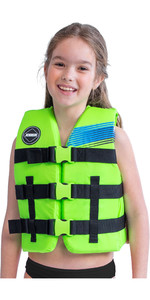 2021 Jobe Junior 50N Impact Vest 244820004 - Lime Green