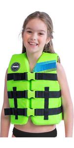 2020 Jobe Junior 50n Impact Vest 244820004 - Lime Green