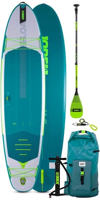 2021 Jobe Aero Loa 11'6 Stand Up Paddle Board Paket - Board, Tasche, Pumpe, Paddel & Leine