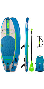 2020 Jobe Venta 9'6 Inflable Sup Package - Tabla, Bolsa, Bomba Y Paleta