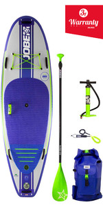 "2019 Jobe Venta Windsurf- Edition Aufblasbares Stand Up Paddleboard 9'6 X 36"" Paddle, Pumpe, Bag & Leine"