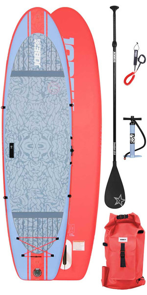 """2018 Jobe Womens Lena Yoga Hinchable Stand Up Paddle Board 10'6 x 33 """"SUP Paquete"""