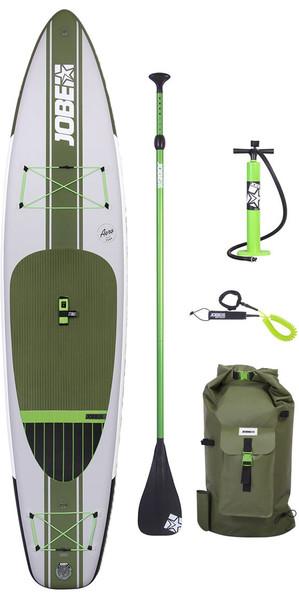 """Support gonflable de Jobe Aero Duna Paddle Board de 11'6 x 31 """"INC, sac à dos, pompe et laisse"""