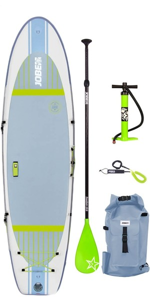 """2018 Jobe Aero Lena Yoga gonfiabile Stand Up Paddle Board 10'6 x 33 """"INC Paddle, zaino, pompa e guinzaglio"""
