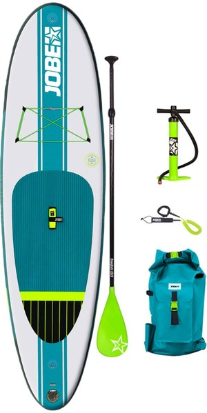 "2018 Jobe Aero Yarra Gonfiabile Stand Up Paddle Board 10'6 x 32 ""INC Paddle, zaino, pompa e guinzaglio"