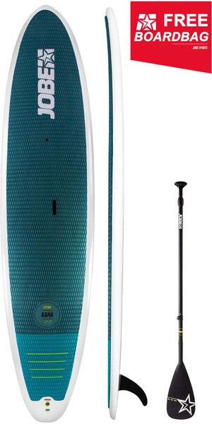 "2019 Jobe Titan Kama 11'6 ""Stand Up Paddle Board INC 3-teiliges Fiberglas-Paddel & Boardbag 486617003"