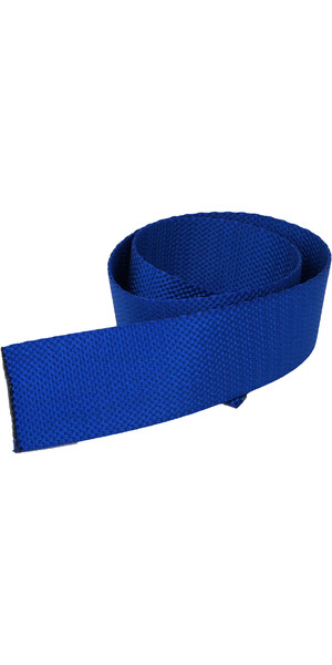 Kingfisher 50mm Toestrap Webbing Blue TSWB50