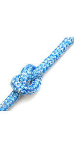 Kingfisher Braid op Braid Rope Melange Blue BM0B2 - Prijs per meter