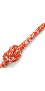 Kingfisher Braid op Braid Rope Melange Red BM0R2 - Prijs per meter