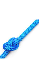 Kingfisher Matt Polyester Rope Blue MB0B1 - Prijs per meter