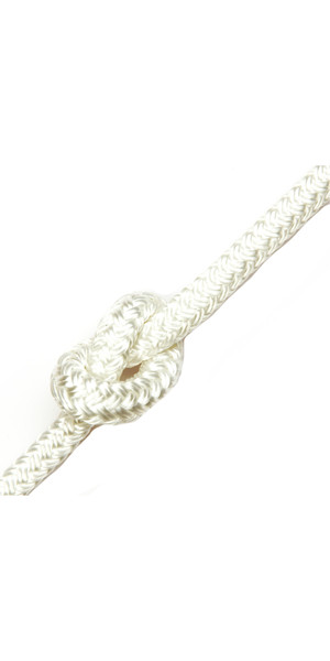 Kingfisher Matt Polyester Rope White MB0W1 - Prix au mètre