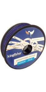 Kingfisher Retorcido Azotar Guita Azul Wtbb
