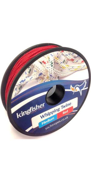 Kingfisher Ficelle à fouetter à torsade rouge WTRB