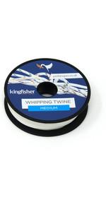 Kingfisher Retorcido Cordel Blanco Wtwb