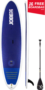 "2019 Jobe Titan Kura 10'6 ""Stand Up Paddle Board Inc 3-Piece Fiberglass Paddle & Boardbag 486617002"