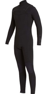 2018 Billabong Furnace Revolution 5/4mm Chest Zip Wetsuit Black L45M06