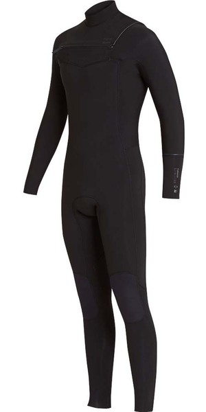 2018 Billabong Furnace Révolution 5 / 4mm Chest Zip Wetsuit Noir L45M06