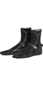 2018 Billabong Ofen Carbon Ultra 5mm Split Toe Stiefel Schwarz L4BT19