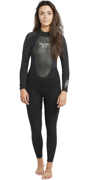 2019 Billabong Womens Launch 4 / 3mm GBS Combinaison Noir 044G01