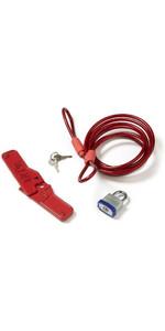 2018 Lockjaw Fin Box Lock - Sicherheit für dein Surfbrett XL01