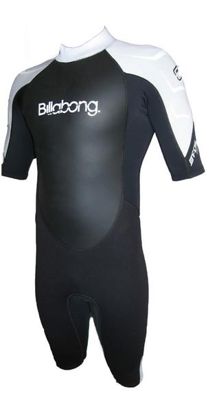 Billabong Foil 2mm Shorty Wetsuit Black / White R42M08