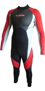 G-force Boys Full 3/2mm Wetsuit GF1303 RED