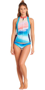 2018 Billabong Damen Salzige Benommenheit 1mm Neopren Weste Mirage L41G04