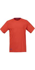 Musto Evolution Logo Kurzarm T-shirt Fire Orange Se1361