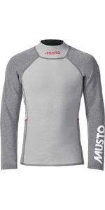 2021 Musto Mens Flexlite Vapour 1.0 Long Sleeve Wetsuit Top 82068 - Grey Marl