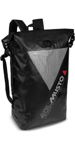 2021 Musto Waterproof Dry Backpack 40L 80041 - Black / Grey