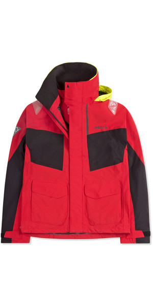 2019 Musto Dame BR2 Coastal Jacket True Red SWJK015