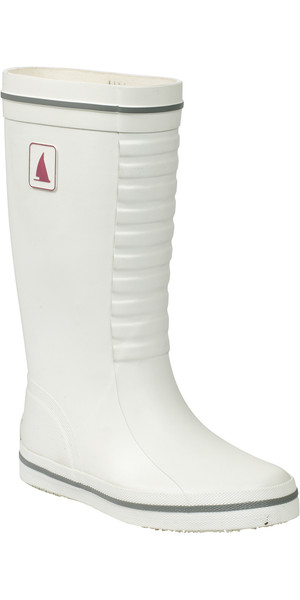 Musto signore / Junior Classic Boot Deck in FS0710 BIANCO