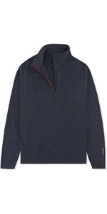 2019 Musto Junior Crew 1/2 Zip Micro Polaire Navy Emfl028