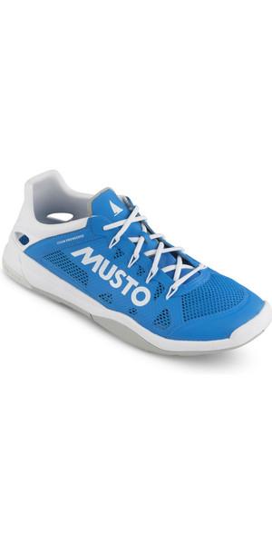 2019 Musto Dynamic Pro II Chaussure de navigation Bleu Brillant FUFT006