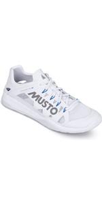 2019 Musto Dynamic Pro Ii Chaussure De Voile Triple Blanc Réfléchissant Fuft006