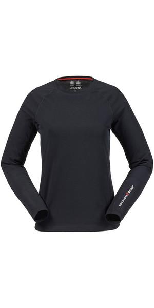 Musto Evolution Ladies Sunblock T-shirt à manches longues BLACK SE0873