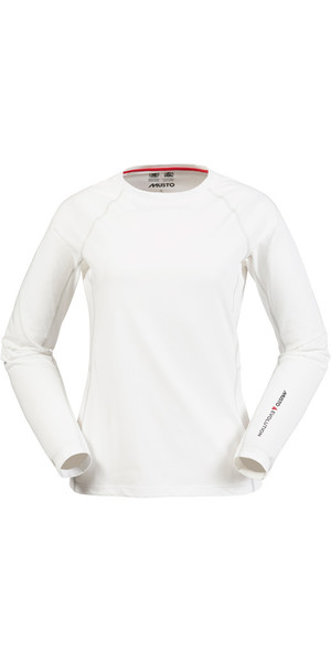 Musto Evolution Womens Sunblock Langarmshirt WEISS SE0873