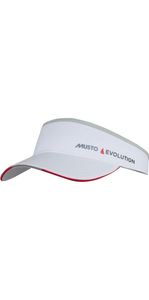 2019 Musto Evolution Race Visor Branco AS0790