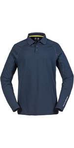 Polo De Manga Larga Con Bloqueador Solar Musto Evolution True Navy Se0254